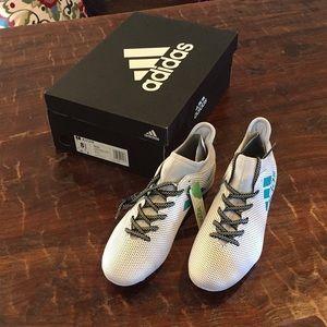 Men's Adidas soccer cleats X 17.3 FG NEW NWT box